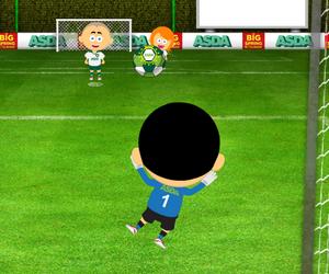 Jeu de foot gardien